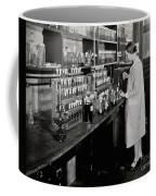 Female Scientist Conducting Experiment Coffee Mug