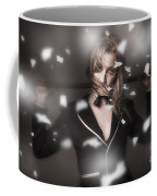 Female Showgirl Performing On A Theater Stage Coffee Mug