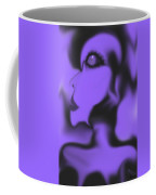 Female Space Face Coffee Mug