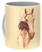 Feminine Rider Coffee Mug