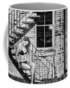 Feminine Stairwell Coffee Mug