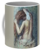 Femme A Sa Toilette Coffee Mug by Edgar Degas