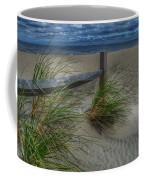 Fence And Dune Grass Coffee Mug