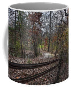 Fence In The Forrest Coffee Mug