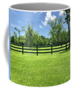 Fence Line  Coffee Mug