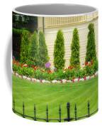 Fence Lined Garden Coffee Mug