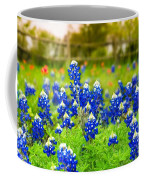 Fence Me In With Flowers Coffee Mug