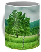 Fence Row And Tree Coffee Mug