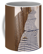Fence Shadow Coffee Mug