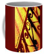 Fence Shadows 5 Coffee Mug