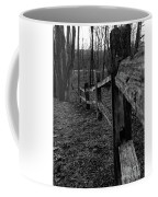 Fence To Nowhere Coffee Mug