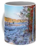 Fenced Autumn Coffee Mug