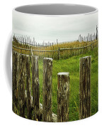 Fences In A Stormy Light Coffee Mug
