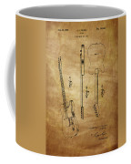 Fender Guitar Patent From 1951 Coffee Mug