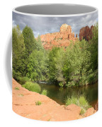 Feng Shui In Sedona Coffee Mug by Carol Groenen