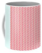 Fermat Spiral Pattern Effect Pattern Red Coffee Mug