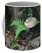 Fern And Mushroom Coffee Mug