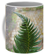 Fern Art Prints Green Garden Fern Branch Botanical Baslee Troutman Coffee Mug