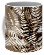 Fern In Sepia Coffee Mug