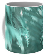 Fern Leaves Abstract 4. Nature In Alien Skin Coffee Mug