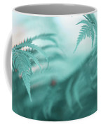 Fern Leaves Abstract. Nature In Alien Skin Coffee Mug