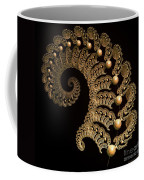 Fern-spiral-fern Coffee Mug