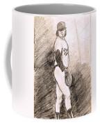 Fernando Valenzuela Coffee Mug by Mel Thompson