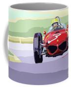 Ferrari 156 Dino 1962 Dutch Gp Coffee Mug