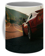 Ferrari 288 Gto At Sunset - 5 Coffee Mug