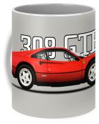 Ferrari 308 Gt Berlinetta Coffee Mug