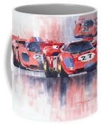 Ferrari 512 S 1970 24 Hours Of Daytona Coffee Mug