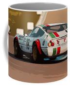 Ferrari Daytona - Italian Flag Livery Coffee Mug