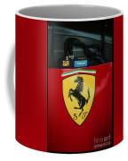 Ferrari F1 Sidepod Emblem Coffee Mug