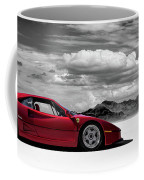 Ferrari F40 Coffee Mug by Douglas Pittman