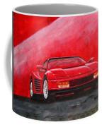 Ferrari Testarrossa Coffee Mug