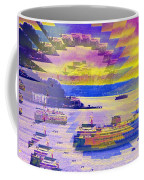 Ferries Off Alki Coffee Mug