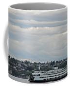 Ferry In Seattle Washington Coffee Mug