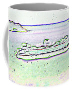 Ferry In The Rain Coffee Mug