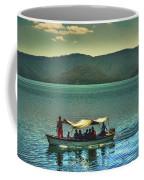 Ferry - Lago De Coatepeque - El Salvador Coffee Mug