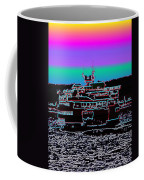 Ferry On Elliott Bay 4 Coffee Mug