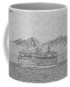 Ferry On Elliott Bay 5 Coffee Mug