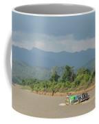 Ferry On The Chindwin 2 Coffee Mug