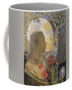 Fertility. Woman In Flowers Coffee Mug