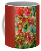 Festive Orchids Coffee Mug