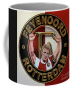Feyenoord Rotterdam Painting Coffee Mug