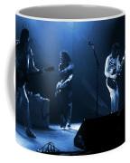 Fhat#68 Enhanced In Blue Coffee Mug