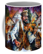 Fiddler From The Sky Coffee Mug