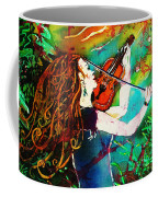 Fiddling Toward The Sun Coffee Mug