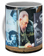 Fidel At The Used Book Sellers Market Coffee Mug