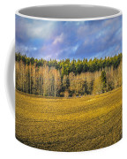 Field And Sky.  Coffee Mug